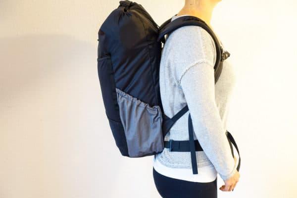 Rucksack Rückenlänge messen