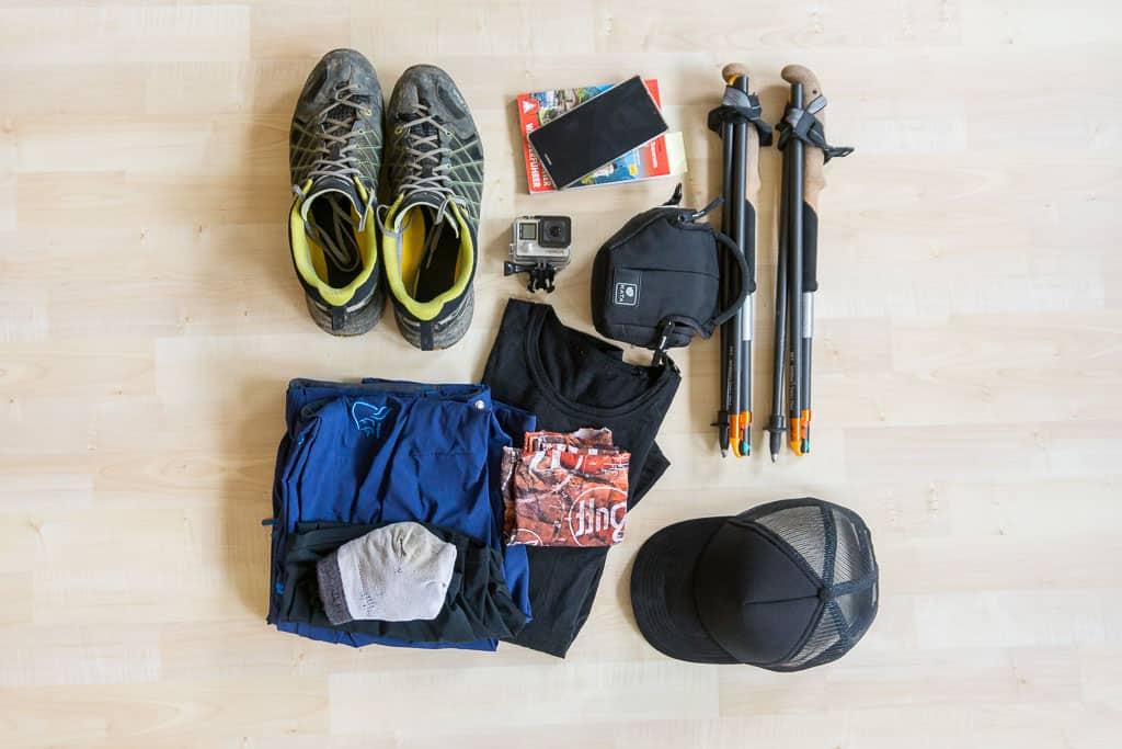 Wanderausrüstung Packliste